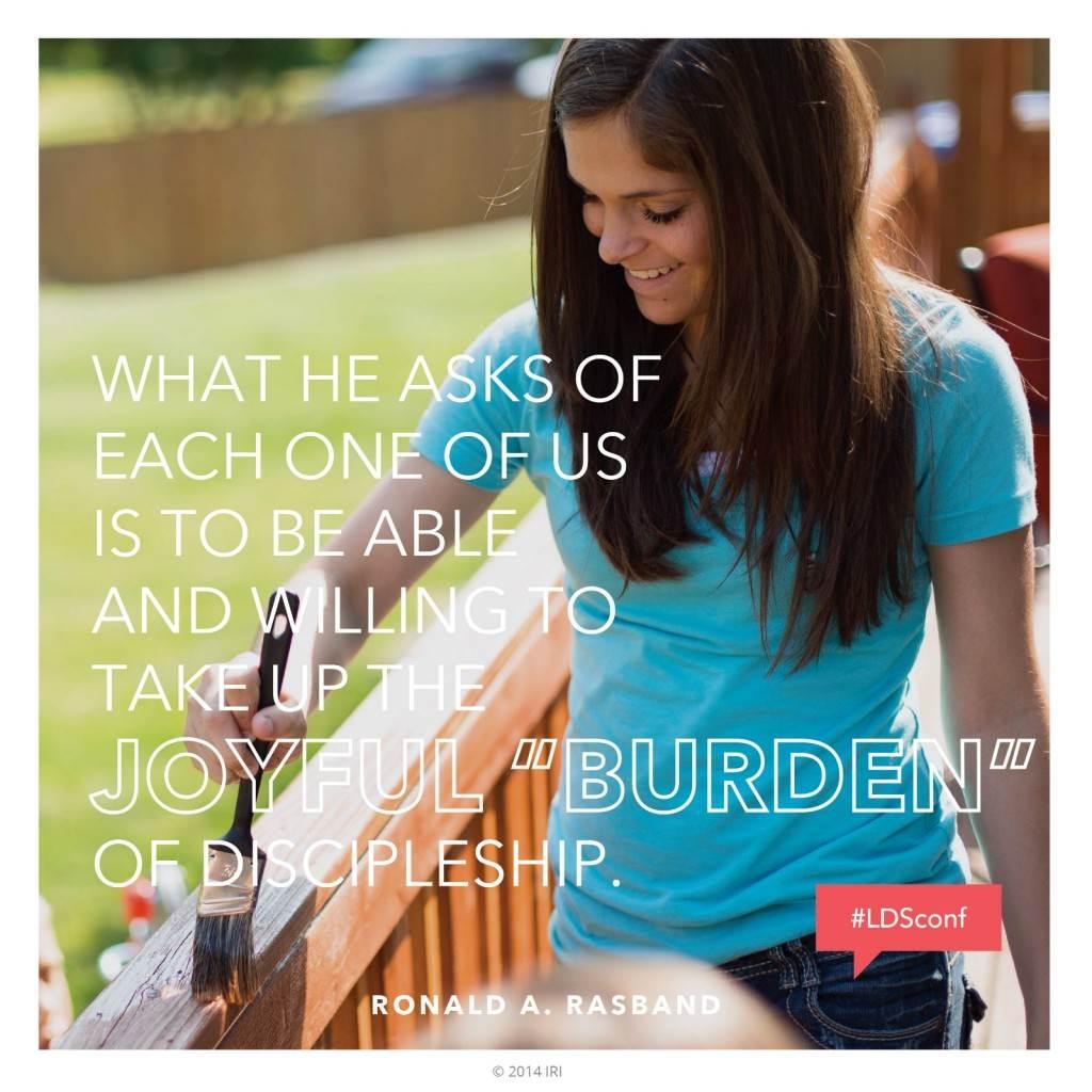 Joyful Burden