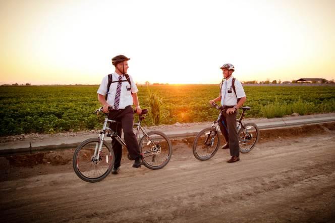 Mormon Missionaries Always Go in Pairs