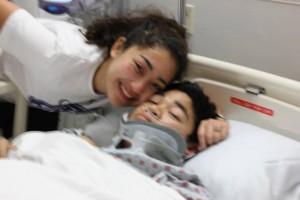 couple at a hospital room
