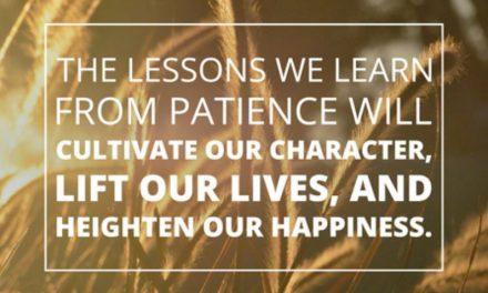 Jesus Christ's Attribute: Patience