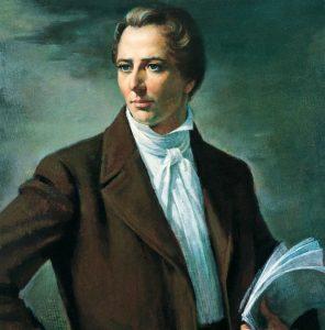 Painting of the Mormon Prophet Joseph Smith