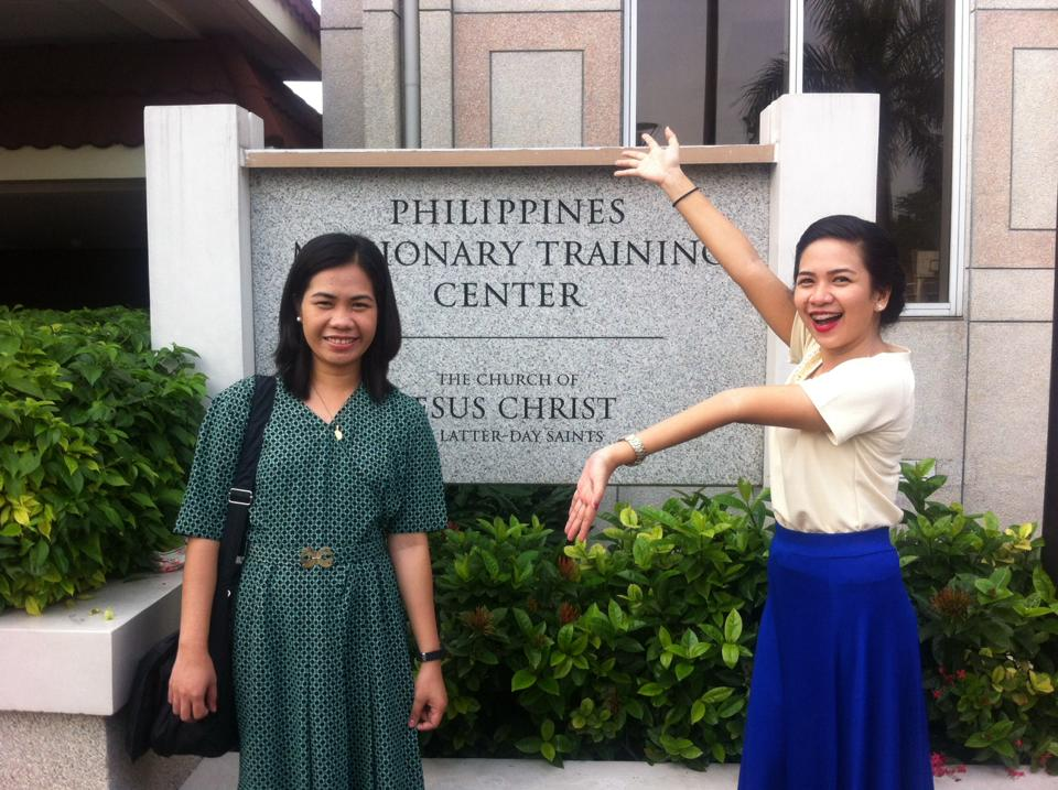 LDS sister at the Philippines MTC