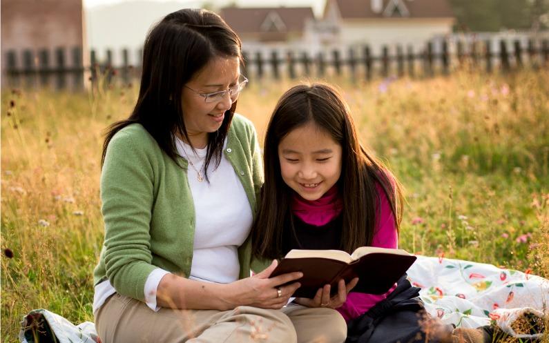 reading the Book of Mormon