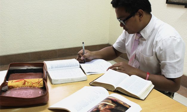 Study More, Pray More, Serve More
