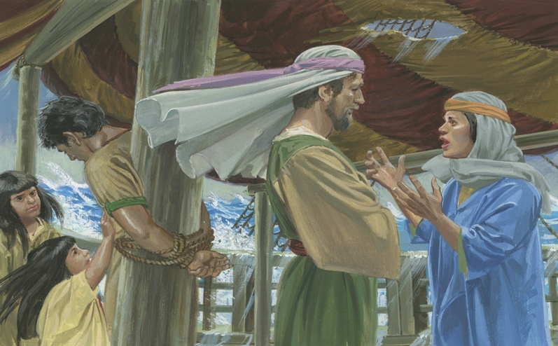 Nephi's wife, one of the women in the Book of Mormon