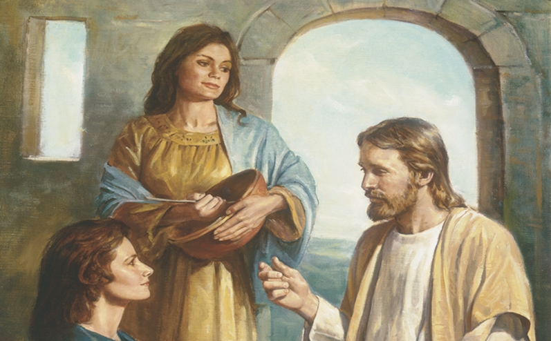 New Testament Lessons: Helping The Marthas Of Our Lives