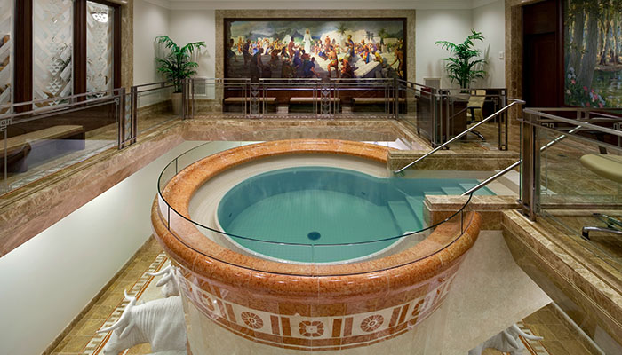 Mormon Temple-Baptismal-Font