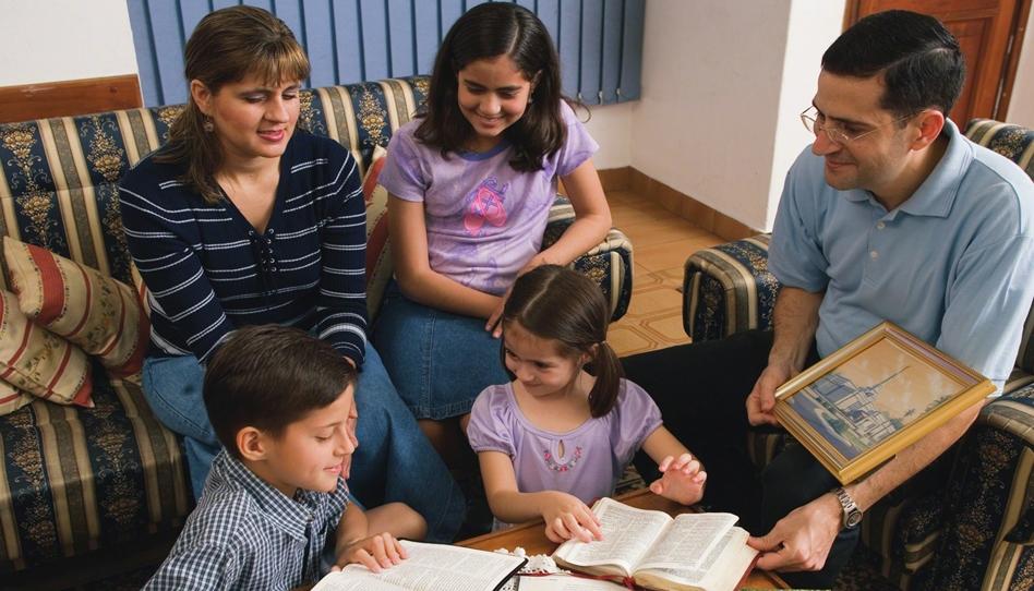 Family gospel learning at home