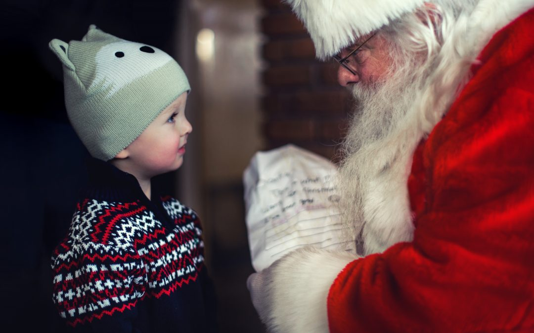 What I Learned from Santa Claus About Giving Gifts to Our Kids