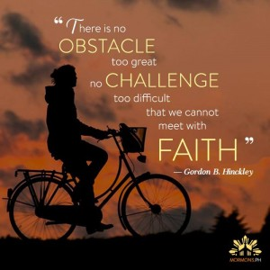 Facing trials with faith